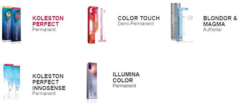 Produkte Wella
